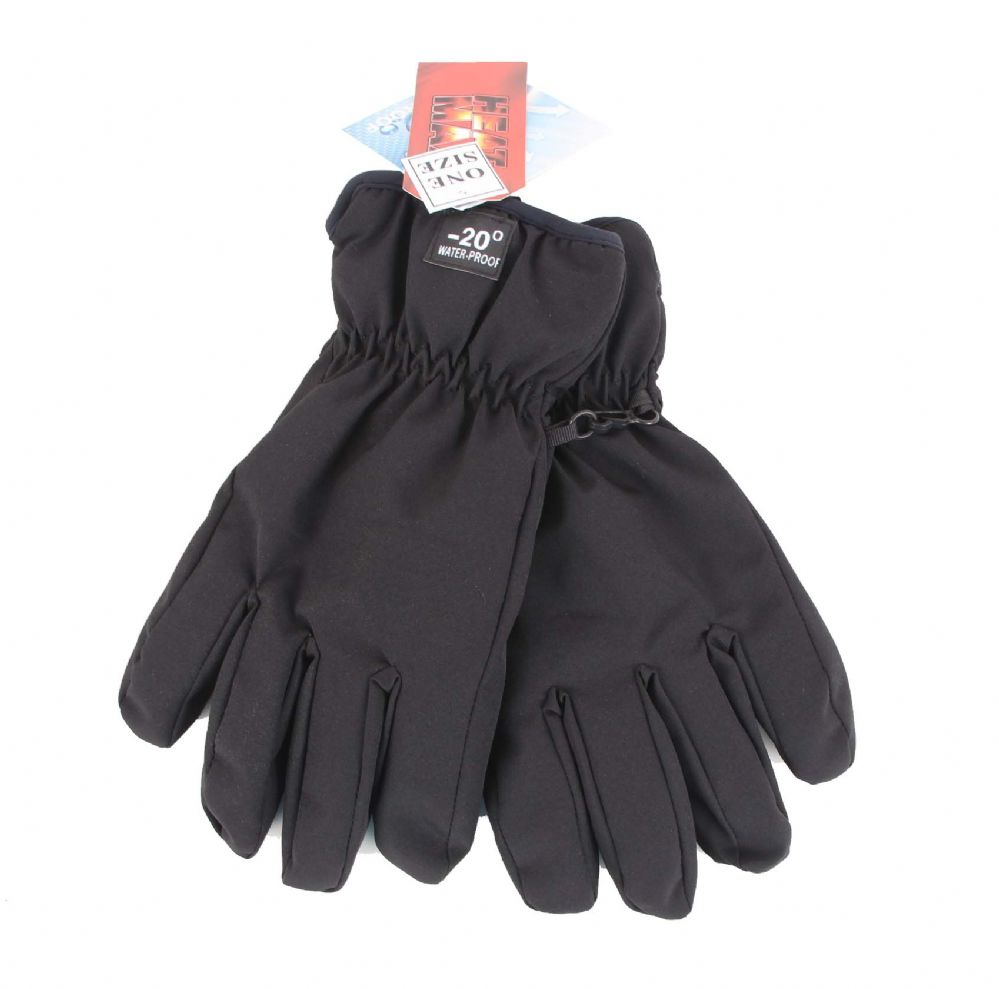 Mens  Insulated Waterproof Ski Gloves
